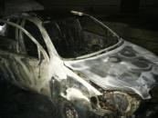 На Вінниччині вщент згорів автомобіль