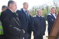 Біля Вінниці укріплюють дорожнє покриття на трасі міжнародного значення