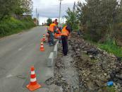 У Вінниці ремонтують тротуари по Келецькій, вулицях Кобилянської та Героїв Крут і провулку Ясному