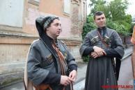 В центрі міста вінницький режисер Валерій Шалига знімає кіно про Петлюру та про історію Вінниці