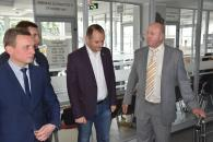 Делегація муніципалітету з Івано-Франківська приїздила до Вінниці знайомитись з досвідом колег у різних сферах