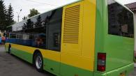 У Вінниці на лінію випустили перший автобус, обшитий за новою технологією