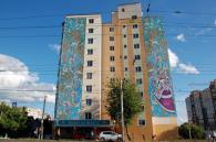На стінах вінницьких висоток з'являться мурали «Місто спорту», «Спрямованість», «Плідність», «Місто культури» та «Слов'янка»