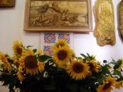 До кінця липня вінничани матимуть можливість ознайомитись із виробами відомого різьбяра Петра Пипи