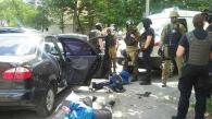 У Вінниці троє озброєних чоловіків напали на ювелірний магазин в центрі міста і поранили охоронця