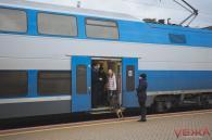 Двоповерховий Інтерсіті тимчасово не курсуватиме з Вінниці до Києва
