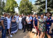 Президент прогулявся оновленим проспектом Космонавтів та центром Вінниці