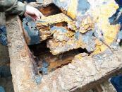 Відкрили німецький сейф, який знайшли вчора під час розкопок на вулиці Магістратській