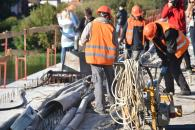 З початку листопада буде відновлено проїзд для всього транспорту через Київський міст