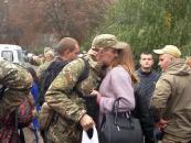 """В зону АТО вирушили півсотні бійців спецбатальйону """"Вінниця"""""""