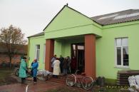 Постраждале від вибухів село Павлівка продовжує отримувати гуманітарну допомогу