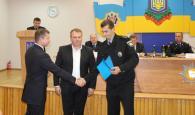Кращих поліцейських Вінниччини відзначили нагрудими знаками та грамотами