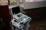 Вінницький обласний онкодиспансер отримав у подарунок мобільний УЗД-апарат