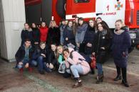 Майбутні медики побували на виставці пожежно-рятувальної служби