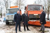 Вінницька міськрада передала Вороновицькій територіальній громаді снігоприбиральну техніку