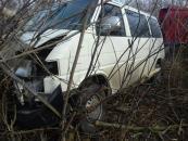 В Тульчинському районі сталась потрійна ДТП. Один із водіїв потрапив до лікарні