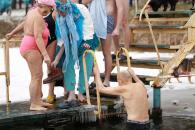 Як вінничани святкують Водохреща