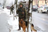 У Вінниці правоохоронці та нацгвардійці провели спільні навчання