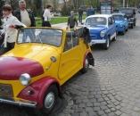 ЗАПОРОЖЦЮ – 50. Виставка ретро-автомобілів у Вінниці (фото)