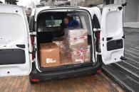 Вінниця отримала черговий гуманітарний вантаж для військових від міста-побратима Бірмінгем