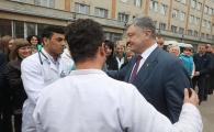 Президент відкрив у Вінницькій дитячій обласній лікарні реконструйоване відділення