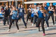 У Вінниці відбувся флешмоб «Спортивний танець»