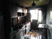 В багатоповерхівці по вулиці Янгеля ввечорі сталась пожежа