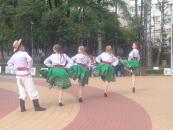 У суботу в рамках проекту «Мистецькі вихідні» для вінничан проводили майстер-класи, ігри та концерти