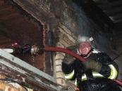 Пожежа на території колишнього заводу «Хімпром»