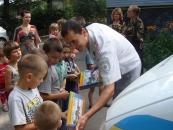 Правоохоронці Вінниччини  завітали з «добром» до вихованців дитячого притулку «Добро»