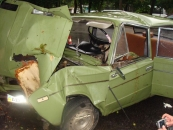6 липня на вулиці Першотравневій сталася аварія