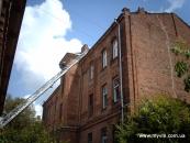 Пожежа в центрі Вінниці
