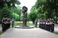На Вінниччині вшанували пам'ять загиблих міліціонерів