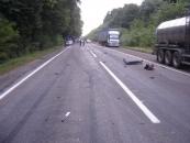 2 вересня між селами Дашківці та Петрик сталася аварія