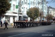 У Вінниці пройшов парад особового складу працівників та техніки МНС