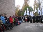 У центрі соціальної реабілітації дітей-інвалідів «Промінь» відкрили спортивний майданчик