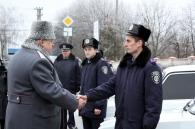 Автопарк Вінницької міліції поповнився на 15 нових автомобілів