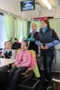 До Дня св. Миколая екскурсійний трамвайчик отримав назву ВЕЗУНЧИК