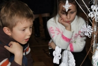 Майже 80 юних авторів найкращих новорічних композицій отримали подарунки від міської ради