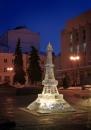 В центрі Вінниці хулігани розбили «Ейфелеву вежу»
