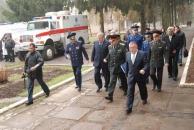 Вчора з робочою поїздкою Вінницю відвідав Міністр оборони України Михайло Єжель