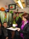 У Вінниці на День Святого Валентина закохані пари одружилися у трамвайчику-кав'ярні «Везунчик»