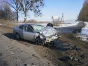 На Вінниччині Skoda Octavia розірвала навпіл Toyota Avensis
