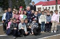 На Вінниччині вихованцям школи-інтернату подарували майданчик для вивчення правил дорожнього руху