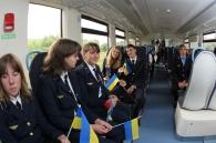 Обласні центри -  Вінницю та Хмельницький -  з'єднав маршрут рейкового автобуса