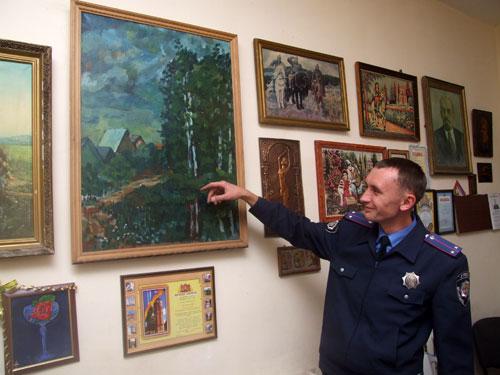 Міліціонери облаштували свій дільничний пункт, як міні-музей