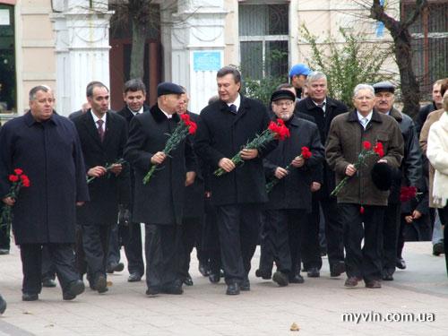 Віктор Янукович у Вінниці
