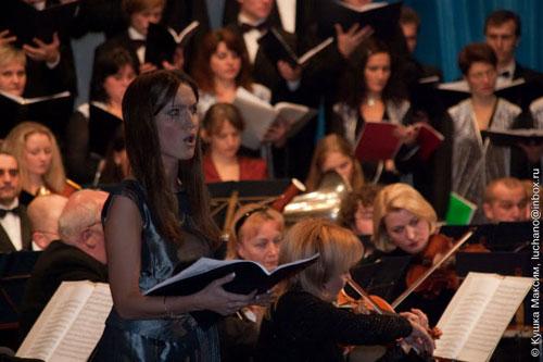 випускниця Львівської музичної академії Марта Жехович