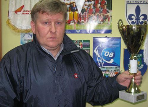 Главный тренер «Олимпии-Колоса-Секвойи» и национальной сборной Украины Павел Мазур