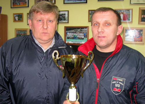 Тренер «Олимпии-Колоса-Секвойи» и национальной сборной Украины Николай Касянчук